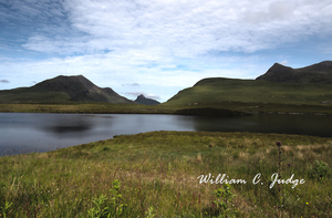 down, headless, highlands, lake, loch, meadow, scotland, scottish, sphinx, summer isles, uk, william