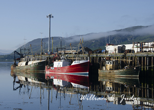 bay, boats, calm, fishing, fleet, harbor, highlands, historic, oceans, old, reflection, scotland, sc